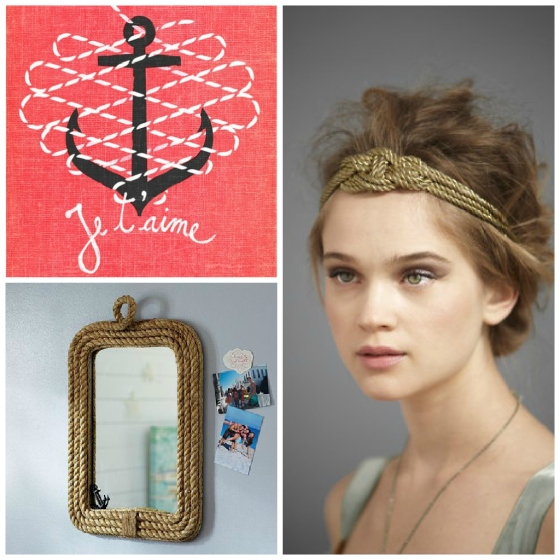 NookAndSea-Gold-Headband-Hair-Accessory-Rope-Mirror-Rectangle-Anchor-Pink-French-Quote-Romantic-Nautical-Inspiration-Board-Collage