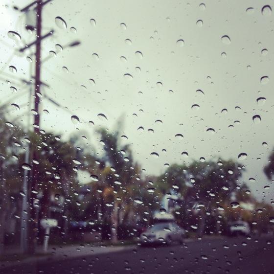 NookAndSea-Weekend-Recap-Instagram-Raindrops-Rainy-Day-Wet-Windshield-Wind-Screen-Street-Neighborhood