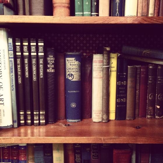 NookAndSea-Weekend-Recap-Instagram-Antiques-Store-Old-Books-Shelf-Reading-Vintage